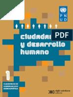 Ciudadanía y Desarrollo Humano