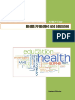 Health Promotion and Education