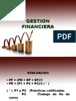 Gestión Financiera Semestre 2017I..