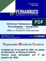 A OMC e o Comércio Internacional.ppt