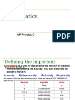 06AP Physics C - Kinematics