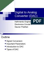 Digital to Analog Converter (DAC)