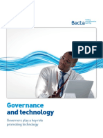 Governance and Technology Becta Report