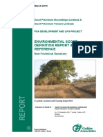 1302793_non-Technical Summary Environmental Scope Defination Report and Terms of Reference
