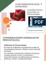 Curso de Perinatología y Neonatología