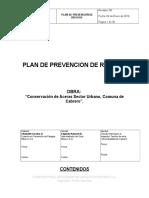 Plan Prevención Riesgos Cabrero