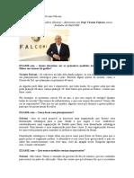 Exame Entrevista Prof. Vicente Falconi