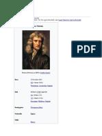 Isaac Newton bio
