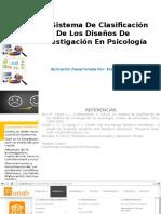 Un Sistema de Clasificación de Los Diseños de Investigacion