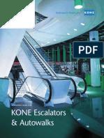 KONE Escalator AutoWalk Planning Guide Tcm25 18783