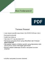 PPT Klasifikasi Fenilpropanoid Dan Poliketida