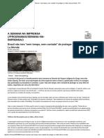 """Brasil Não Tem """"Nem Tempo, Nem Vontade"""" de Proteger Os Índios, Diz Le Monde - RFI"""