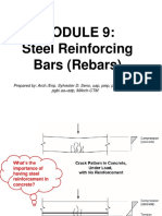 Building Utilities Steel Reinforcement Bars Specifications
