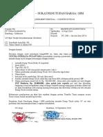 Dump Truck – Surat Penutupan Harga