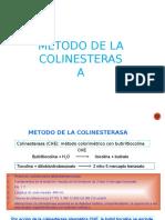 Metodo de La Colinesterasa