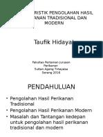 Karakteristik Tradisional Dan Modern (1)