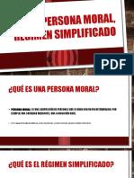 Equipo Ige Persona Moral, Régimen Simplificado