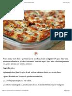 Torta Bruschetta