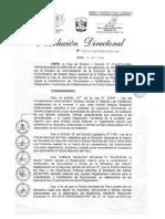 A Directiva Fedatarios