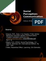 3 Social Perception Communication2