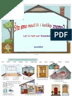 dijelovi kuće-radni listić