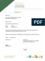 Surat Disnaker DSA Polos