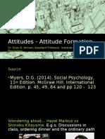 5 Attitudes Attitude Formation2