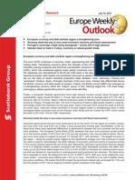 ScotiaBank JUL 16 Europe Weekly Outlook