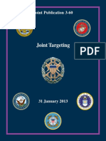 Joint Chiefs of Staff-Joint Targeting 31 January 2013