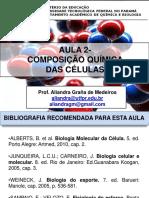 Aula 2 - Composição Química Das Células