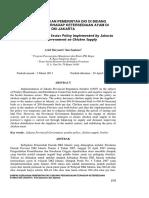 Peraturan Pemda Provinsi DKI Jakarta Tentang RPA-TPA