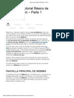 Manual o Tutorial Básico de Webmin - Parte 1
