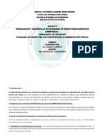 Organización y Desarrolllo de Programas de Asignaturas Basado en Competencia
