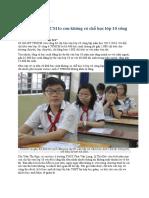 Phụ huynh TPHCM lo con không có chỗ học lớp 10 công lập.docx