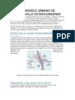 Modelo de Desarrollo Urbano Usa