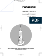 Panasonic EW1211 Manual Version EU