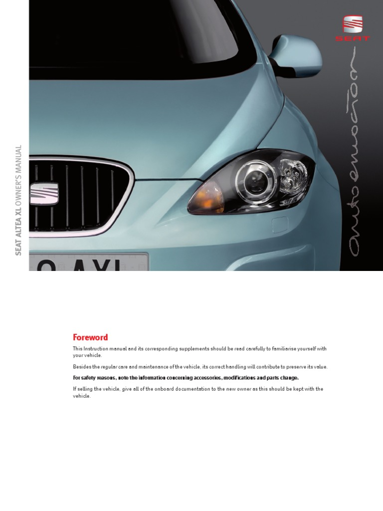 Mirror Right for Seat Altea XL 09 Elek Heated Glass Convex Exterior