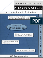 Michael Grinder - Fundamentals of Group Dynamics (1998)(OCR)
