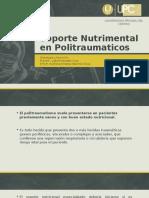 Soporte Nutrimental en Politraumaticos