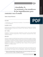 EMPRESAS VINCULADAS (TESTAFERROS)