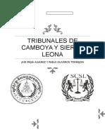 Tribunales de Camboya y Sierra Leona