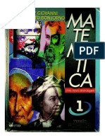 Livro Volume 1 Bonjorno - Ensino Medio