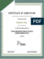 cceya certificate