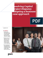 Pwc Resolving Capital Project Disputes