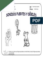 Pasitos - Fuerte - Débil 3, 4 y 5 Años.