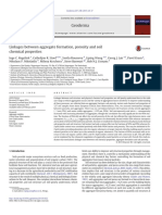 Linkages Between Aggregate Formation, Porosity and Soil