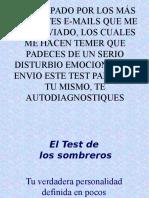 Test Delos Sombreros