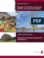 WTP8 Strategic Flood Risk Assessment Non Technical Summary