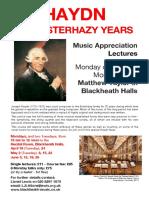 Haydn - Esterhazy Years