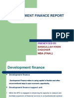 Development Finance Report